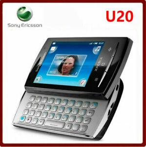 Sony-Ericsson-Xperia-X10-mini-pro-U20-U20a-BLACK-White-Unlocked-Smartphone