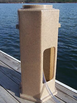 STANDING DOCK GAS FUNNEL, Every dock needs a GAS-LINK!