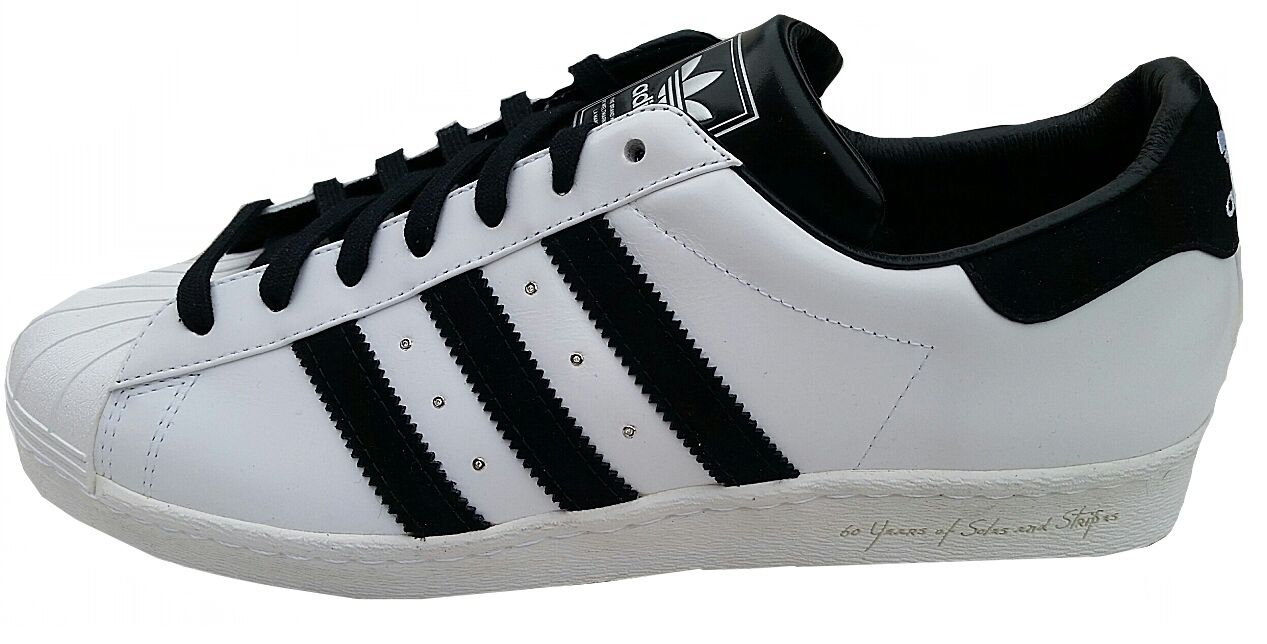 ADIDAS SUPERSTAR 80, S diamante 60° ANNIVERSARIO shoes sportive g09704 11UK