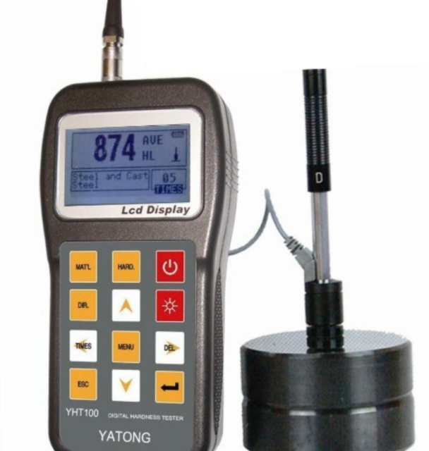 NEW 1PC YHT100 Portable Rebound Leeb Hardness Tester Meter  M