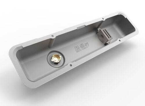 Holley 241-137 serie coche del músculo SBC Válvula CUBRE Pulido con aletas Z28 L82 LT1