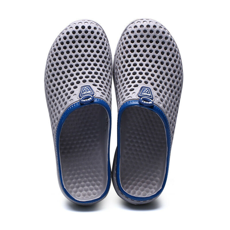 c69b7d9c2dfe4 ... New summer Men s Men s Men s Breathable Slippers Hollow-out Beach  Sandals Garden Hole Shoes a02258 ...