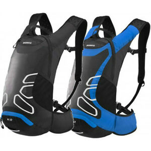 Shimano ROKKO 12L R12 Hydration Day Pack Bike Cycling Backpack Water ... af950a423193f