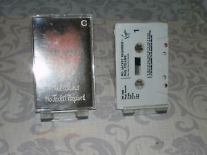 """PHIL COLLINS """" NO JACKET REQUIRED  """" CASSETTE"""