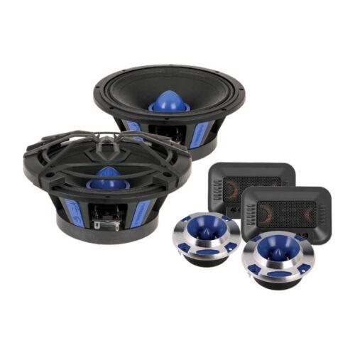 """Soundstream SME.650C 200 Watt 6.5/"""" PRO Audio Component Speakers Tweeters 6-1//2"""