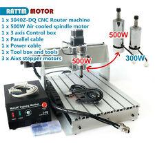 3 Axis 500w Lpt 3040z Dq Cnc Router Engraving Machine 220v110v Ball Screw Kit