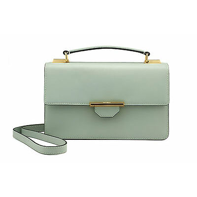 REVELRY | SIREN CROSSBODY leather shoulder bag DUSTY GREEN