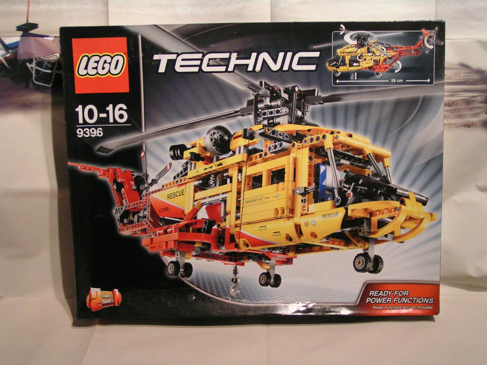LEGO TECHNIC - HELICOPTERE DE SECOURS  prêt pour  POWER FUNCTIONS  ref. 9396