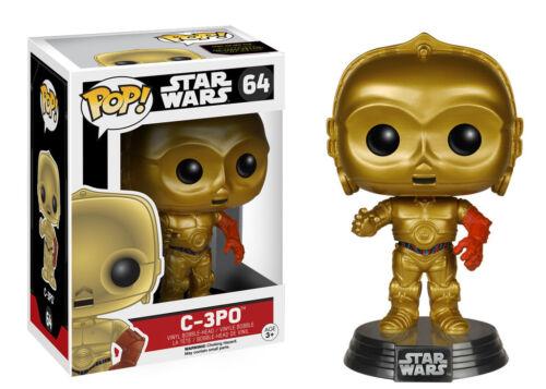 STAR WARS VII Force Réveille funko pop 11 Figure Set BB-8 Finn Rey C3PO Kylo Ren