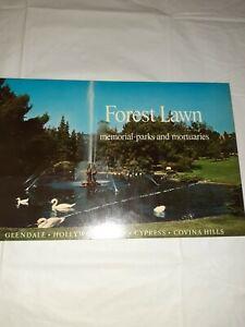 Vtg 1968 Forest Lawn Memorial Parks Color Brochure
