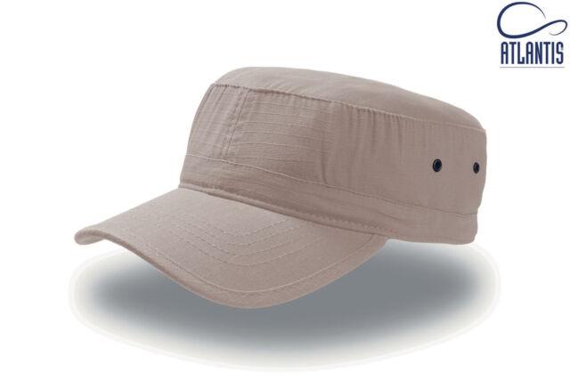 Atlantis sombrero Ejército militar gorra Vasco Rossi caqui desierto ... 7f7a8267dc1