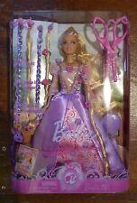 Collectible Mattel Fairytale Princess Barbie Cut and Style Repunzel