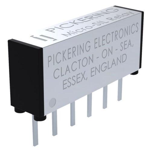 Pickering Coaxial 1 forman una bobina SPST 5 V Micro Sil Reed Relé