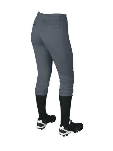 DeMarini Girls/' Youth Sleek Pull-Up Yoga Style Softball Pants Fastpitch