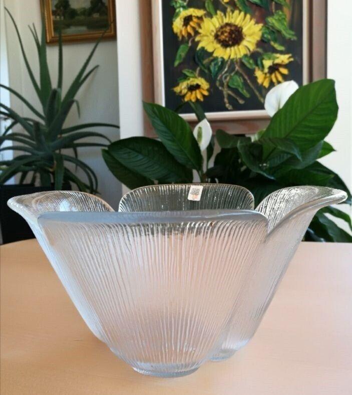 Glas, Firkløver skål, Holmegaard