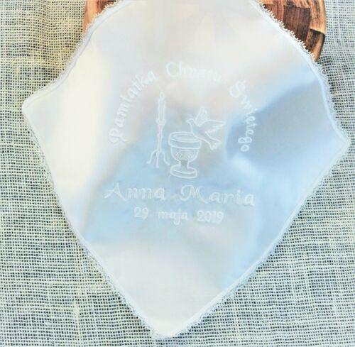 szatka do chrztu personalised baby christening//baptism robe