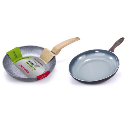 Moneta COMBO-6683 28//30 cm Non Stick Frying Pan Set with ARTECH® STONE Coating