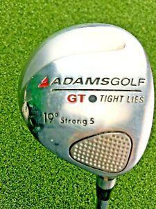"""Adams Golf GT Tight Lies Strong 5 Wood 19* / RH ~41.5"""" / Firm Graphite / gw2432"""