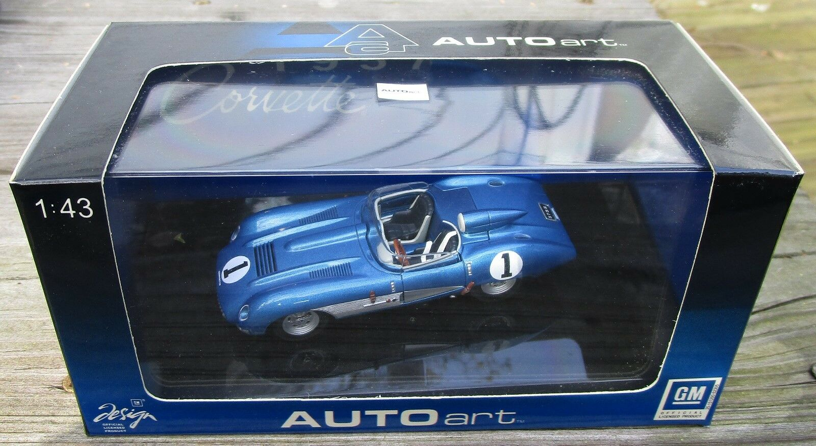 Auto Art 1 43 1957 Chevrolet Corvette Corvette Corvette Ss efbd16