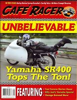 Cafe Racer Magazine April/may 2016 Featuring Billy Joel's Yamaha Special