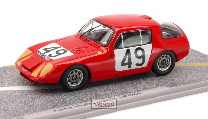 Austin Healey  49 Le Mans 1966 1 43 Bizarre Bz465 Modellino Auto