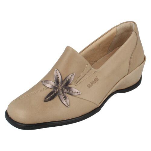 Scarpe Pelle Beige Suave Da Oro Donna Sheila Retail In qxAw4UntX