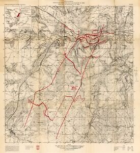500 WW1 World War One Military Maps Book Battle Trench Eastern ...
