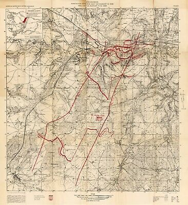 500 WW1 World War One Military Maps Book Battle Trench Eastern Western  Front 251 | eBay