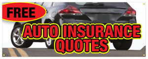 Free Auto Insurance Quotes Car Motorcycle Banner Store ...