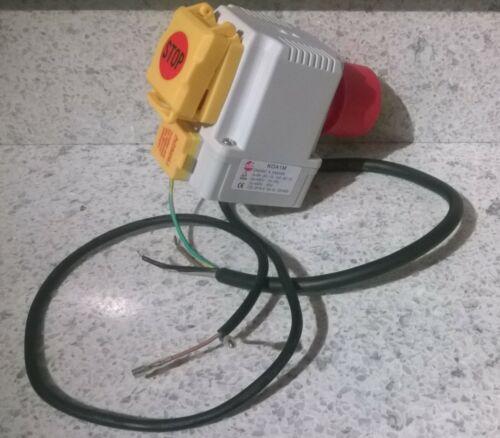 KOA1M KEDU Schalter Stecker Kombination Notaus z.B Säulenbohrmaschine Einhell