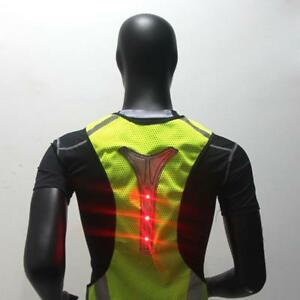 Image Is Loading High Visibility Reflective Led Light Safety Vest Cycling