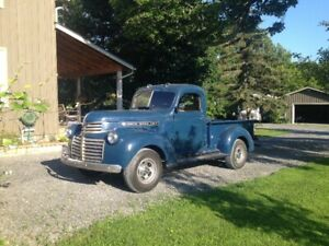 1941 GENERAL MOTORS PICK UP rare and original