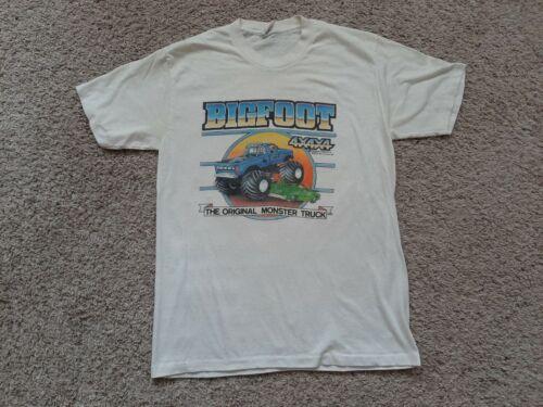Vtg 80s Big Foot Monster Truck T-Shirt L Single St