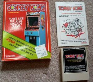 Atari 2600 Donkey Kong Game CIB Box, Manual, Cartridge. Complete. TESTED WORKS