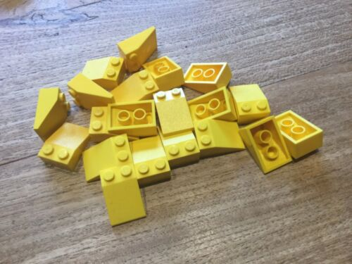 Free p /& p 20 X Lego 3298 Slope 33 3x2 Yellow