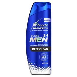 Head & Shoulders Ultra Men 2 In1 Deep Clean Anti-Dandruff Shampoo + Condition...