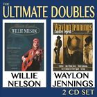 The Ultimate Doubles by Waylon Jennings/Willie Nelson (CD, Oct-2012, 2 Discs, United Audio Entertainment)