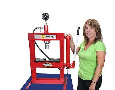 Hydraulic Shop H Frame Press 10 ton Woodward-Fab #PR102