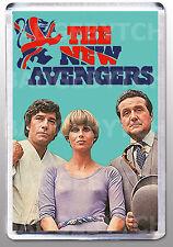 THE NEW AVENGERS LARGE FRIDGE MAGNET - CLASSIC 70's COOL!