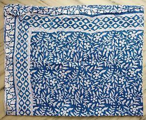 Indian-Cotton-Hand-Block-Swim-Dress-Pario-Cover-up-Sarong-Scarf-Stole-Bikini-A