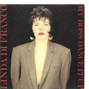 Dettagli su LINDA DI FRANCO - MY BOSS - DANCE IT UP - SOLO COPERTINA ONLY  COVER - EX++