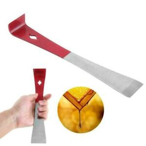 J-Shape-Beekeeper-Bee-Hive-Tool-Beekeeping-Hook-Stainless-Scraper-Tool-Hand-K4M0