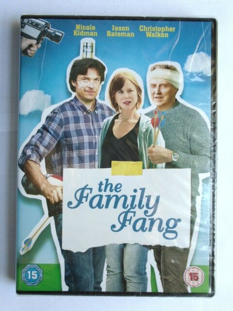 The Family Fang DVD  NEW & Sealed RR5