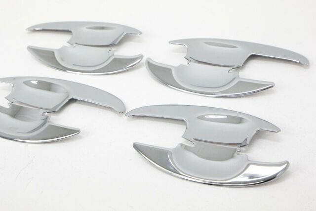 Chrome Door Bowl Molding 4Pcs 1Set For KIA New Sorento R 2010 2014