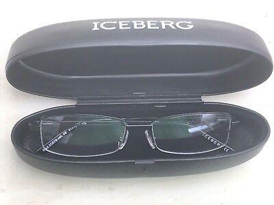 Accurato Nel Caso Nuovo Di Zecca Iceberg Ghiaccio Chiaro Prescrizione Frames Occhiali Rrp £ 150-