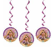 Disney Tangled Princess Rapunzel 36 Hanging Decorations Birthday Party Supplies