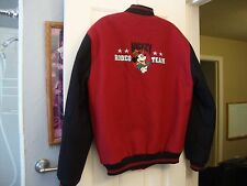 Vintage Walt Disney Rodeo Cowboy Mickey Mouse & Co Varsity Jacket Men's Size S