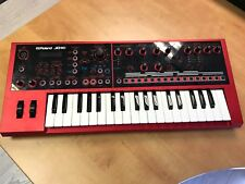 Roland JD-Xi Interactive Analogue Digital Crossover Synthesiser Red