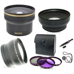 0-17x-Fisheye-0-45x-Wide-2x-Tele-3-Filters-for-Sony-DSC-H7-DSC-H9-DSC-H50
