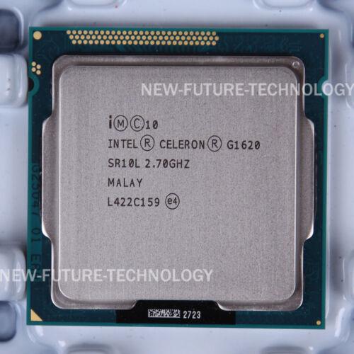 Intel Celeron G1620 SR10L CPU 5 GT//s//2.7 GHz LGA 1155 100/% OK CM8063701445001